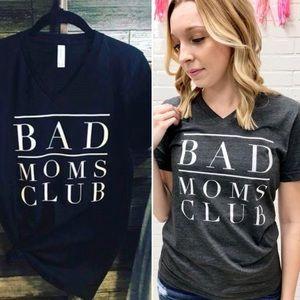Low stock! L-XXL Bad Moms Club tee